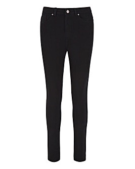 Black Lucy High Waist Super Soft Skinny Jeans