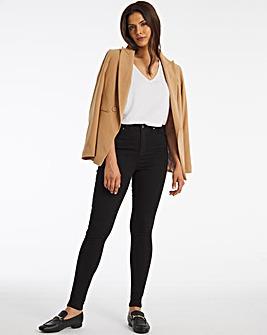 Lucy Black High Waist Super Soft Skinny Jeans