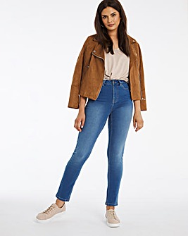 Lexi Blue High Waist Super Soft Slim Leg Jeans