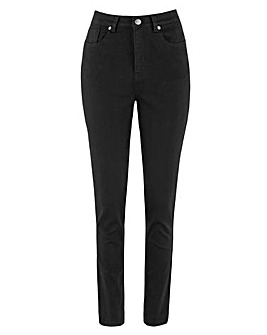 Black Lexi High Waist Super Soft Slim Leg Jeans