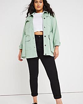 Lexi Black High Waist Super Stretch Slim Leg Jeans