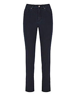 Dark Indigo Lexi High Waist Super Soft Slim Leg Jeans