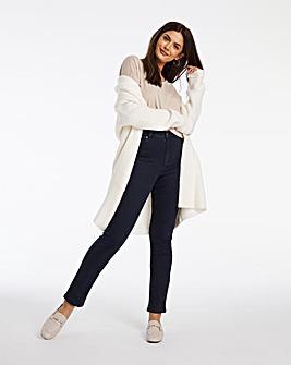 Dark Indigo Lexi High Waist Super Soft Slim Leg Jeans