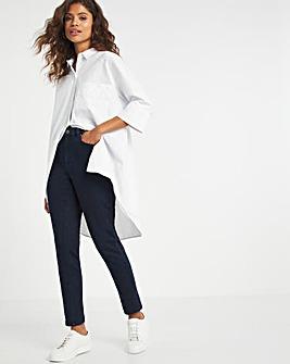 Lexi Dark Indigo High Waist Super Stretch Slim Leg Jeans