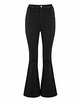 Black Chloe Flare Jeans