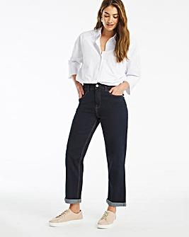 24/7 Indigo Boyfriend Jeans made with Organic Cotton