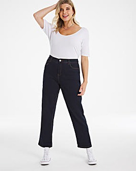 24/7 Indigo Boyfriend Jeans made with Organic Cotton