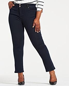 Indigo Shape & Sculpt Straight Leg Jeans