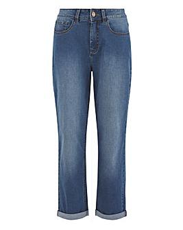 24/7 Blue Boyfriend Jeans