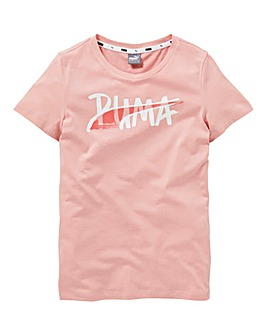 Puma Girls Alpha T-Shirt