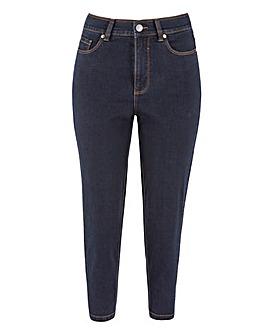24/7 Indigo Crop Jeans made with Organic Cotton