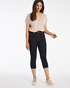 24/7 Indigo Crop Jeans made with Organic Cotton