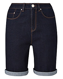 24/7 Indigo Denim Shorts made with Organic Cotton