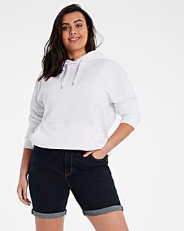 24/7 Indigo Denim Shorts made with Organic Cotton