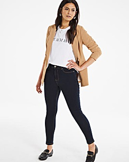 24/7 Indigo Skinny Jeans made with Organic Cotton