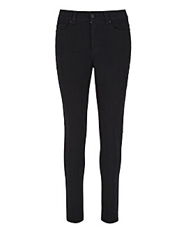 24/7 Black Skinny Jeans made with Organic Cotton