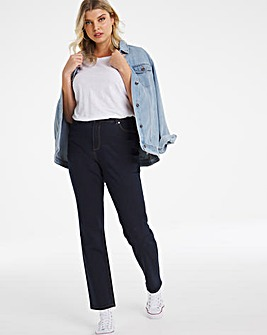 24/7 Indigo Straight Leg Jeans made with Organic Cotton