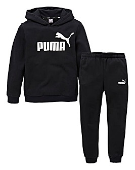 Puma Boys Essentials Hoody Tracksuit