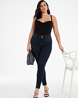 Shape & Sculpt Indigo Apple Fit Skinny Jeans