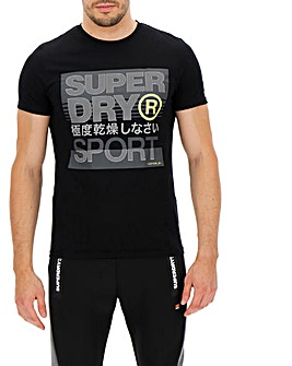 Superdry Core Logo Text S/S Tee