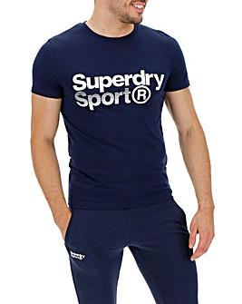Superdry Core Sport Graphic S/S Tee