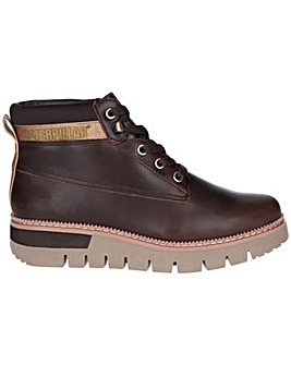 CAT Lifestyle Pastime Wedge Lace Up Boot