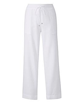 Linen Drawstring Trouser 27in