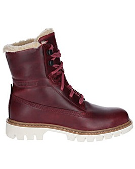 CAT Lifestyle Basis Fur Lace Up Boot