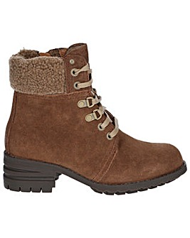 CAT Lifestyle Cora Fur Lace Up Boot