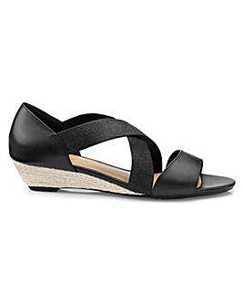 Hotter Rita Standard Fit Strapy Sandal