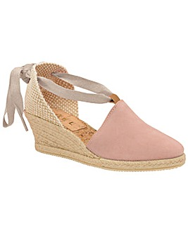 Ravel Antora Suede Wedge Sandals