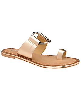 Ravel Franklin Leather Slip-On Sandals