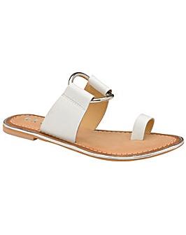 Ravel Franklin Leather Slip-On Sandals