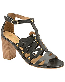 Ravel Jackson Heeled Leather Sandals