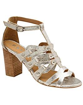 Ravel Jackson Heeled Leather Sandals