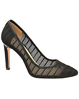 Ravel Edson Mesh Stiletto Court Shoes