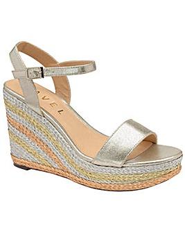 Ravel Dixie Wedge Textile Sandals