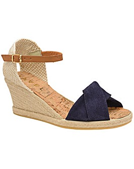 Ravel Palmer Wedge Peep-Toe Sandals