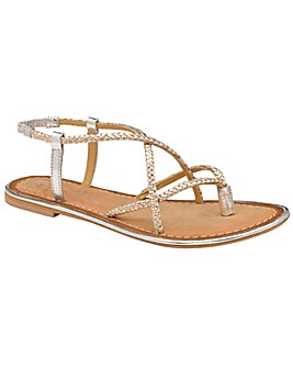 Ravel Holmes Leather Strappy Sandals