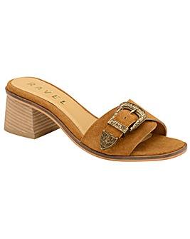 Ravel Baker Suede Slip-On Sandals