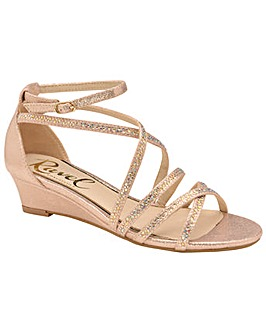 Ravel Rosa Strappy Wedge Sandals