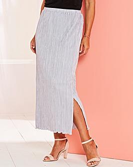 Plisse Tube Skirt