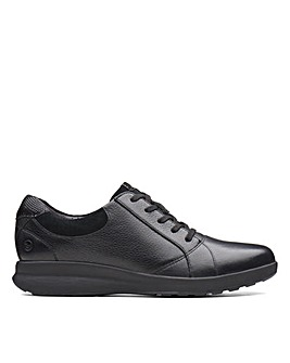 Clarks Unstructured Un Adorn Lace Standard Fitting Shoes