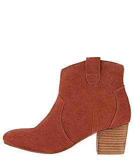Monsoon Carling Casual Suede Ankle Boot