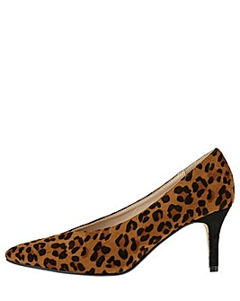 Monsoon Lula Leopard Vamp Point Shoe