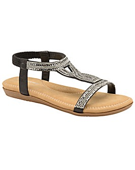 Dunlop Cynthia standard fit sandals