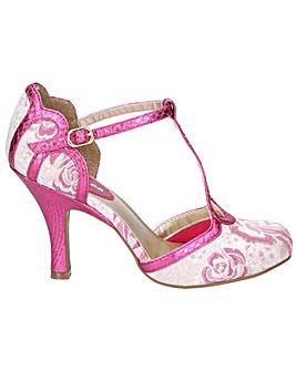 Ruby Shoo Polly T Bar Heel Buckle Shoe