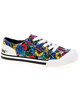 Rocket Dog Jazzin Flower Frenzy Shoe