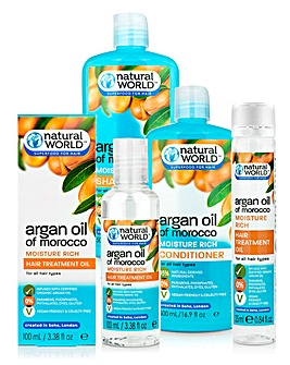 Natural World Moroccan Argan Oil Hair Pack