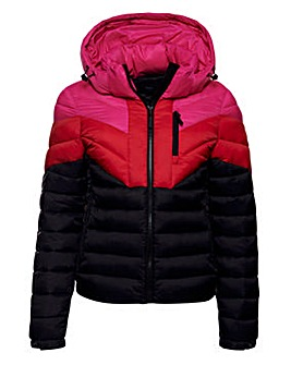 Superdry Colour Block Fuji Coat